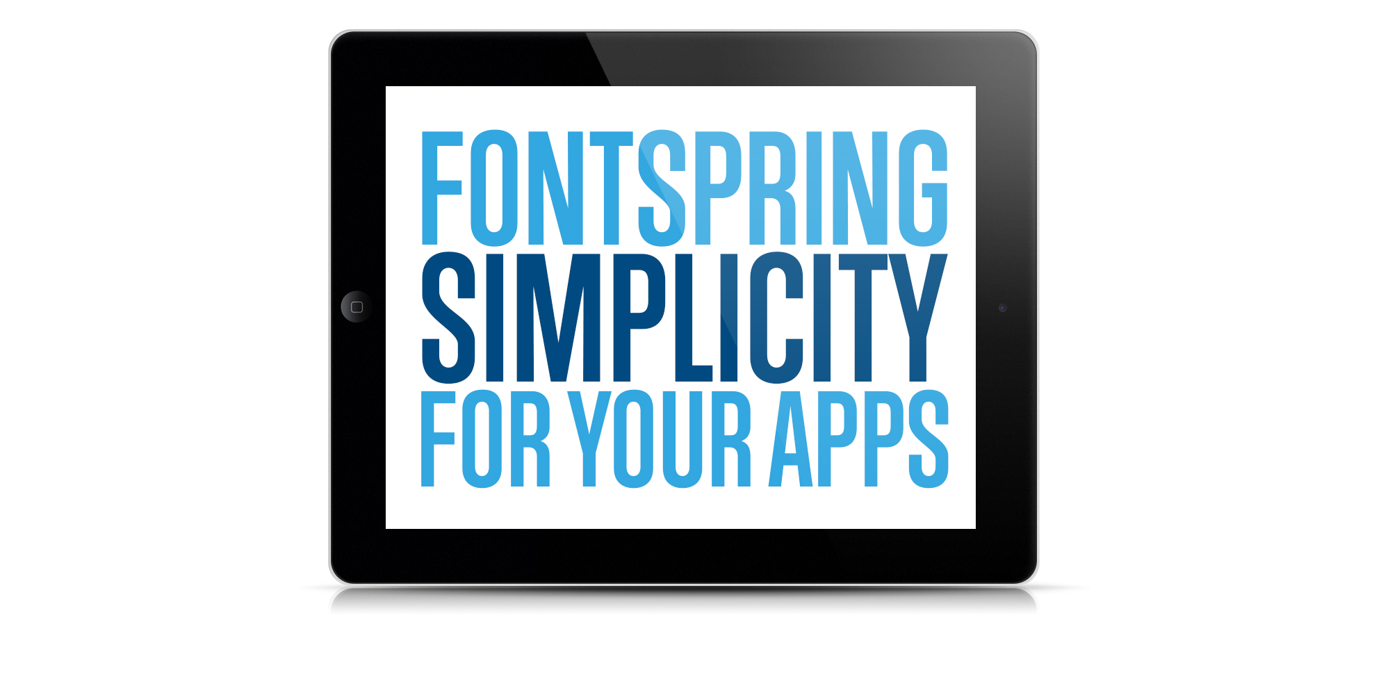 Fontspring Simplicity Now For Your Apps