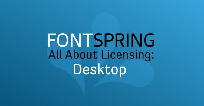 All About Licenses: Desktop Licenses