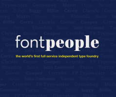 Featured Foundry: FontPeople