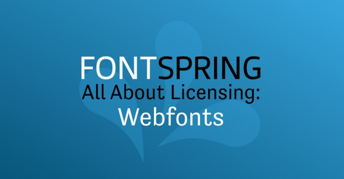 All About Licenses: Webfont Licenses