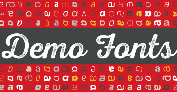 Introducing: Demo Fonts.