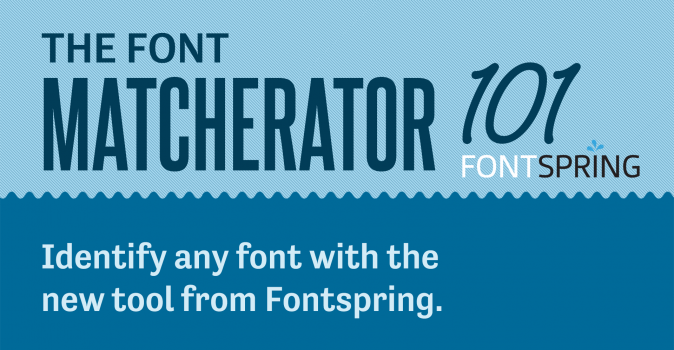 How to Match Fonts With the Matcherator